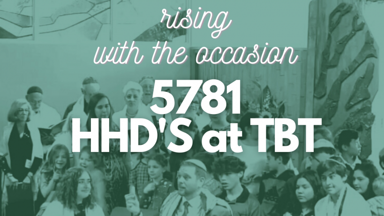 Rising with the Occasion: HHD's at TBT
