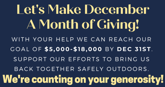 Giving Tuesday: A Month of Giving