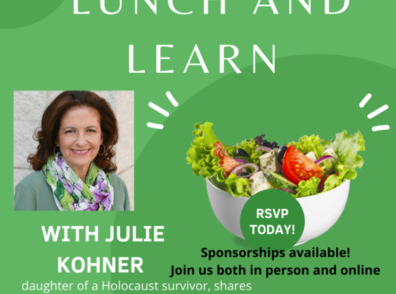 Lunch and Learn with Julie Kohner